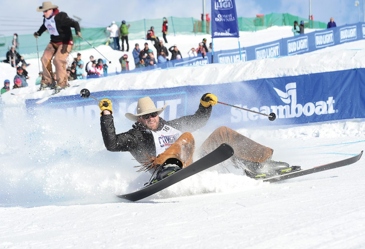 Cowboy Downhill Brings Spills Thrills To Steamboat Ski
