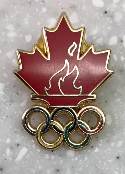 Canada flame pin: Acquired: Trade with Korean volunteer. Thoughts: It's fine. It's specific to a country, which is a good touch, but not to 2018. This was a trade late in the Olympics when my options were limited. Rating: 5
