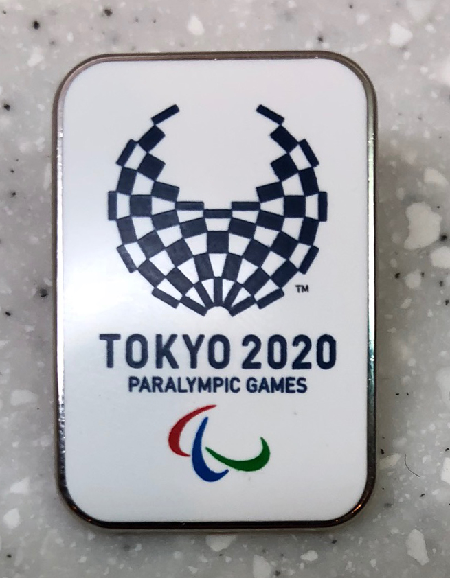 Tokyo 2020: Acquired: From a Japanese journalist Thoughts: This was another trade made while working on a story and scouring my surrounding journalists looking for someone with pins. I saw these Japanese writers and swooped in to make the trade. It's not Pyeongchang, but it's still kind of cool, getting ahead of the game for the 2020 Summer Olympics in Tokyo.