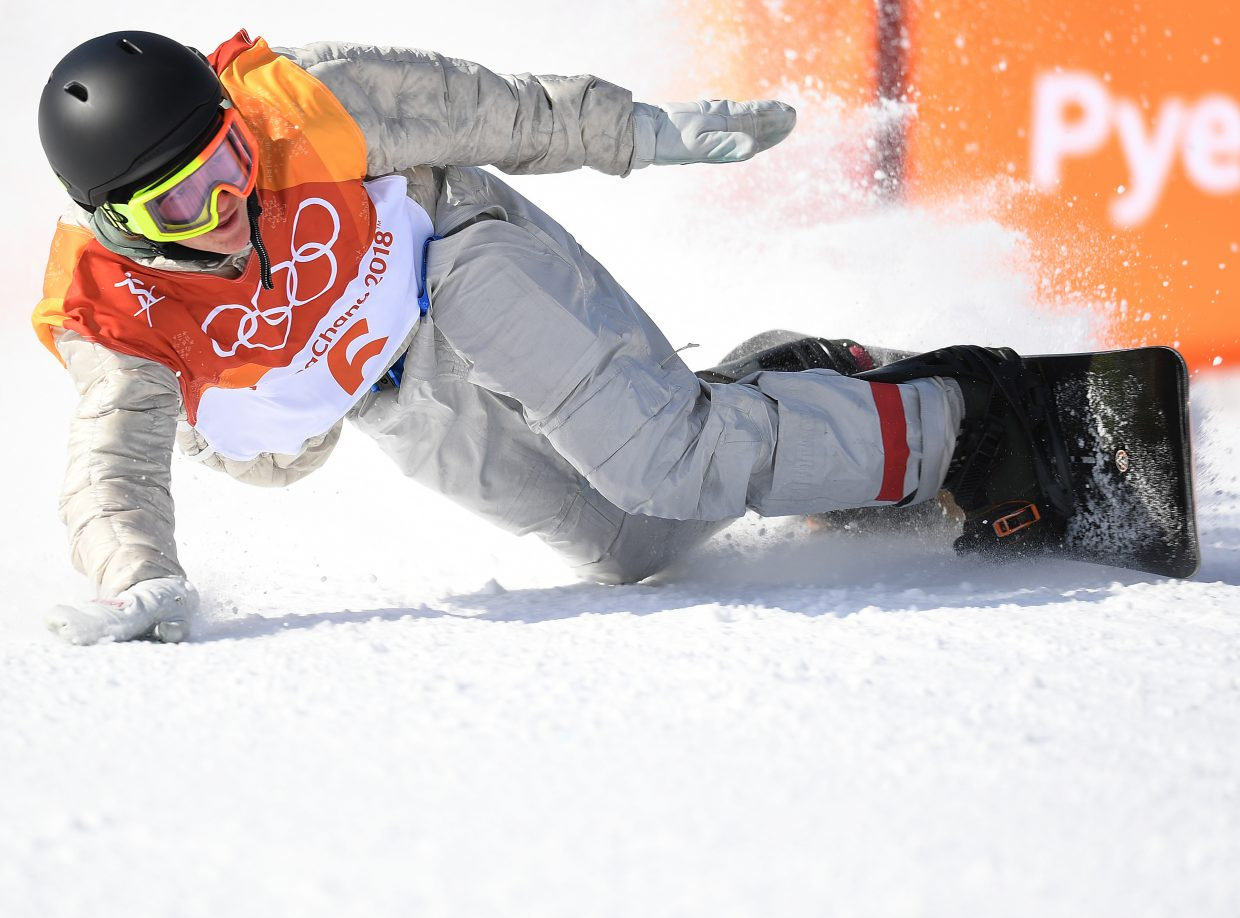 Seventeen-year-old Red Gerard slide stops on his was to a gold-medal upset in the men's snowboard slopestyle event at the 2018 Winter Olympics.