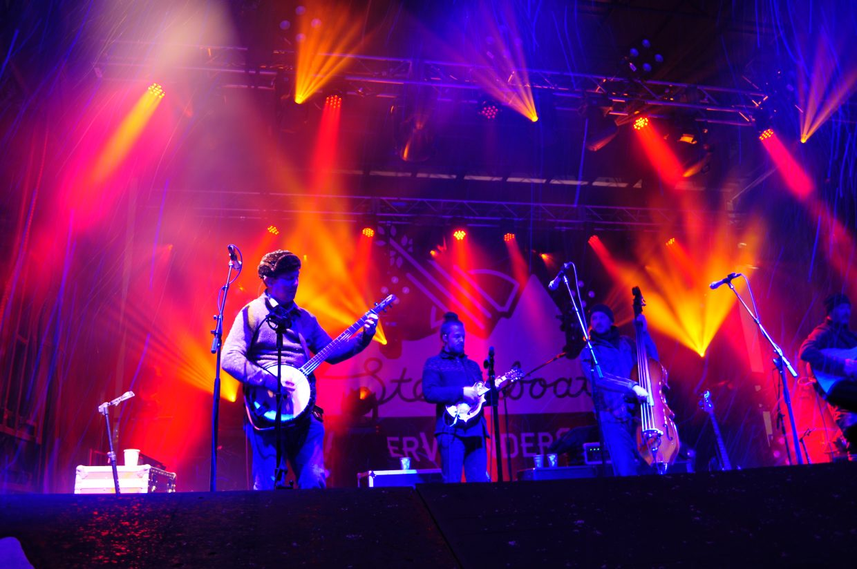 Yonder Mountain String Band close out Friday's shows at WinterWonderGrass in Steamboat Springs.