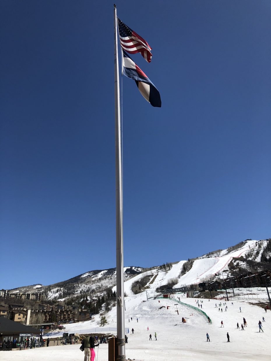 Taken at Steamboat Ski Area on march 27.
