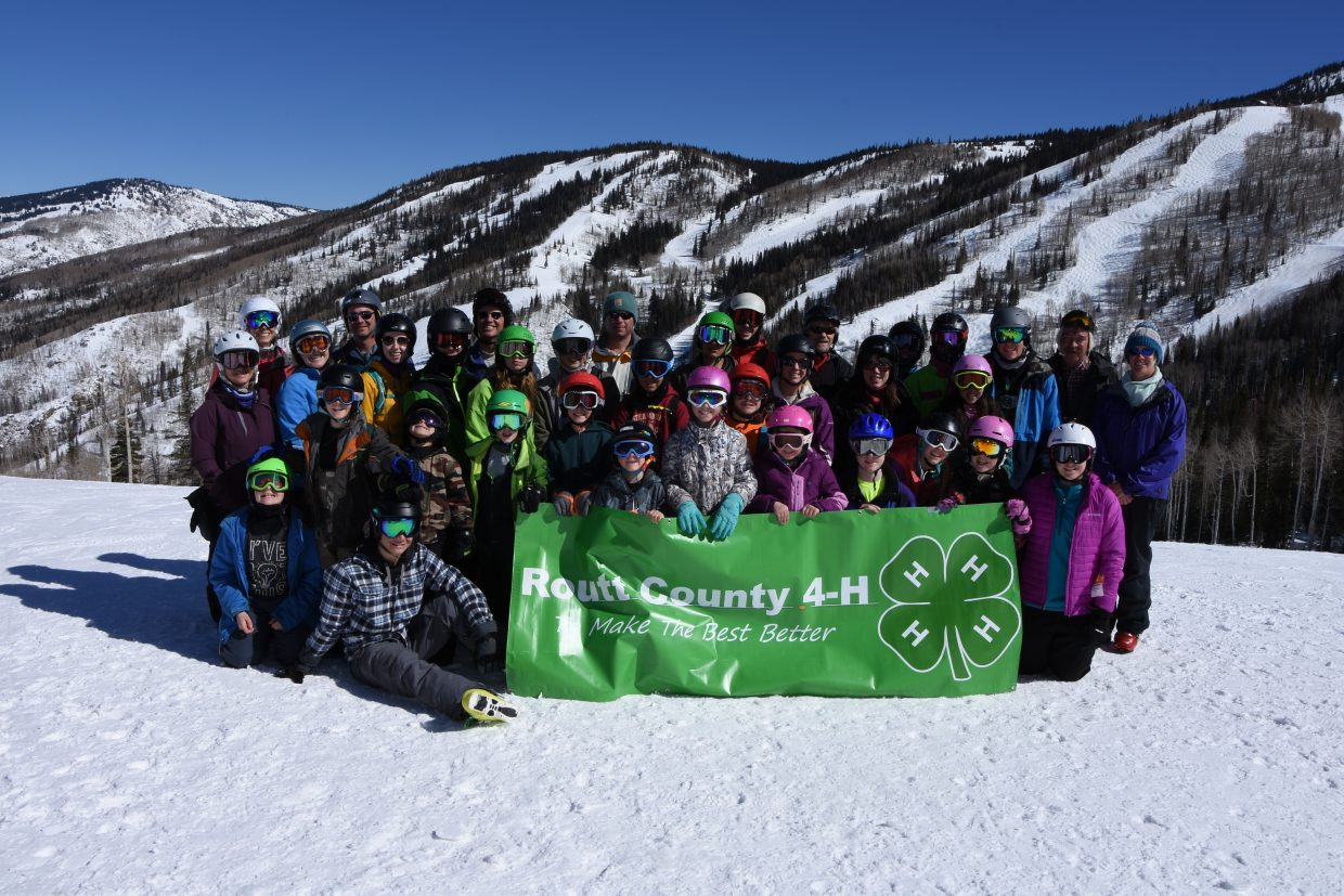 A big THANK YOU to Christy Sports, Powder Tools, and Steamboat Ski and Resort Corp. for supporting the 4th Annual Routt County 4-H Ski Day.