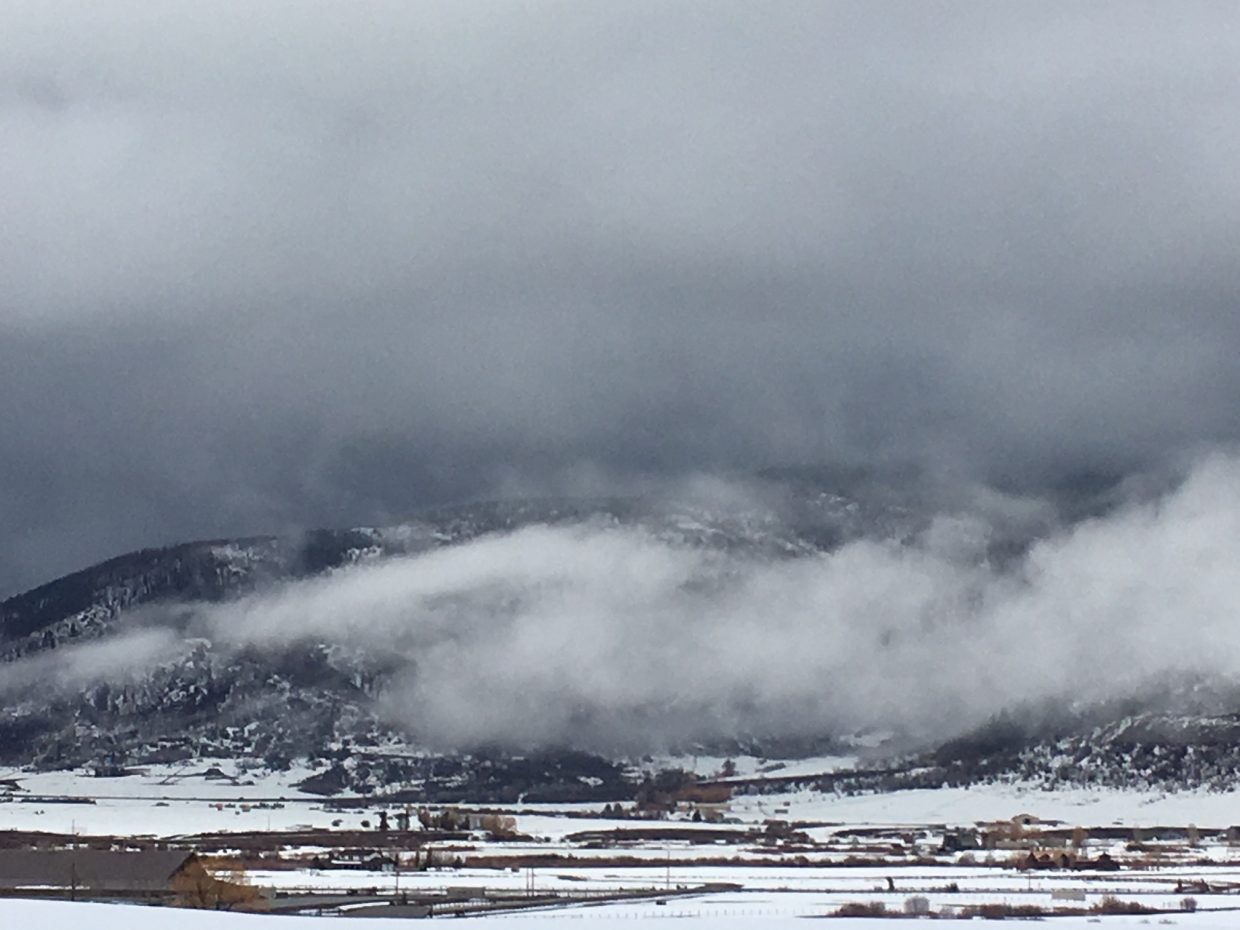 Clouds over Steamboat