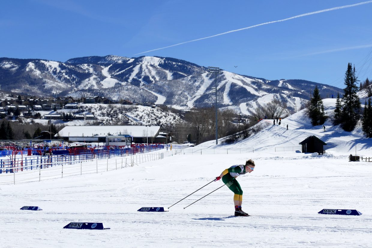 The 2018 NCAA Skiing Championships took place at Howelsen Hill in Steamboat Springs.