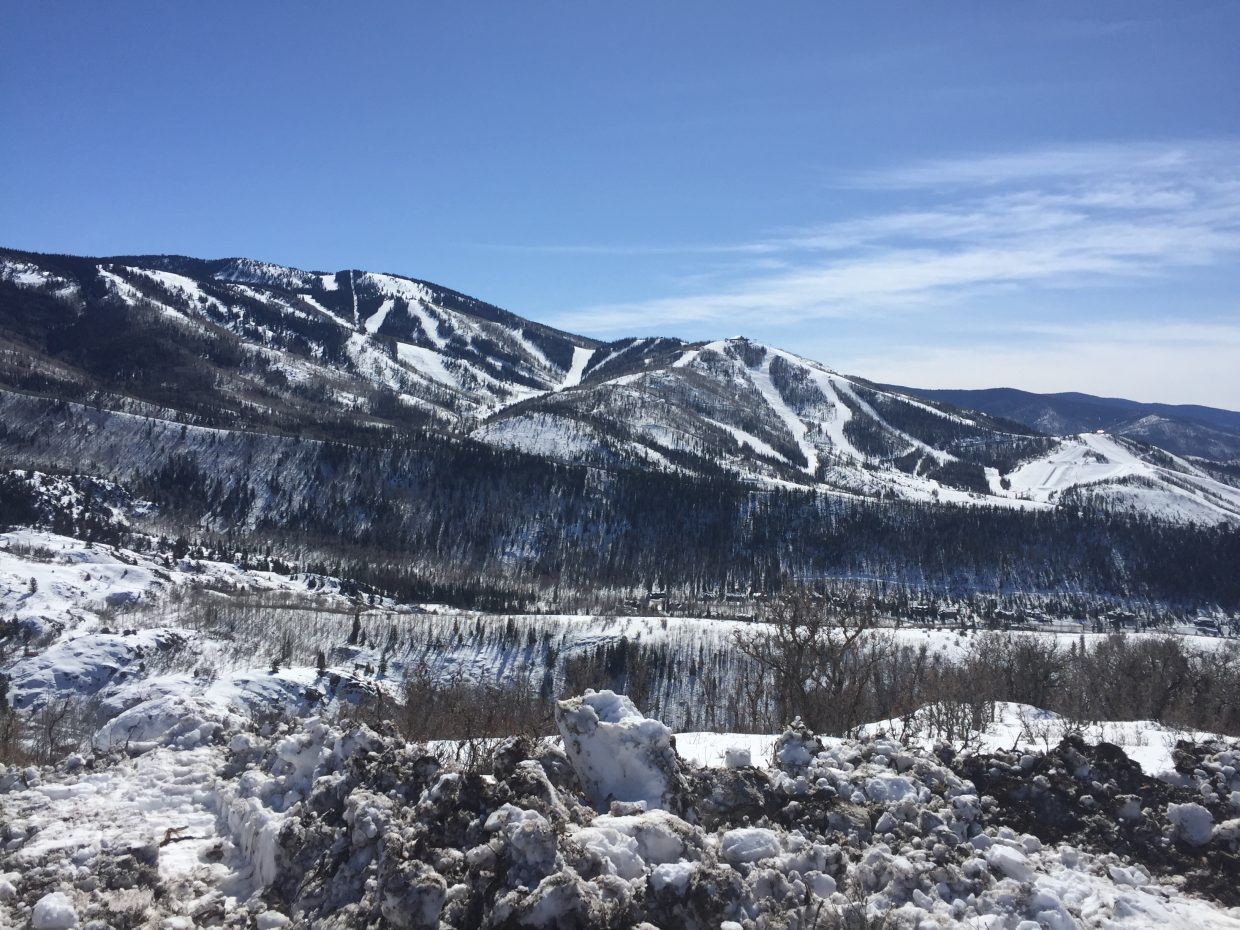 A view from Elkins Mountain