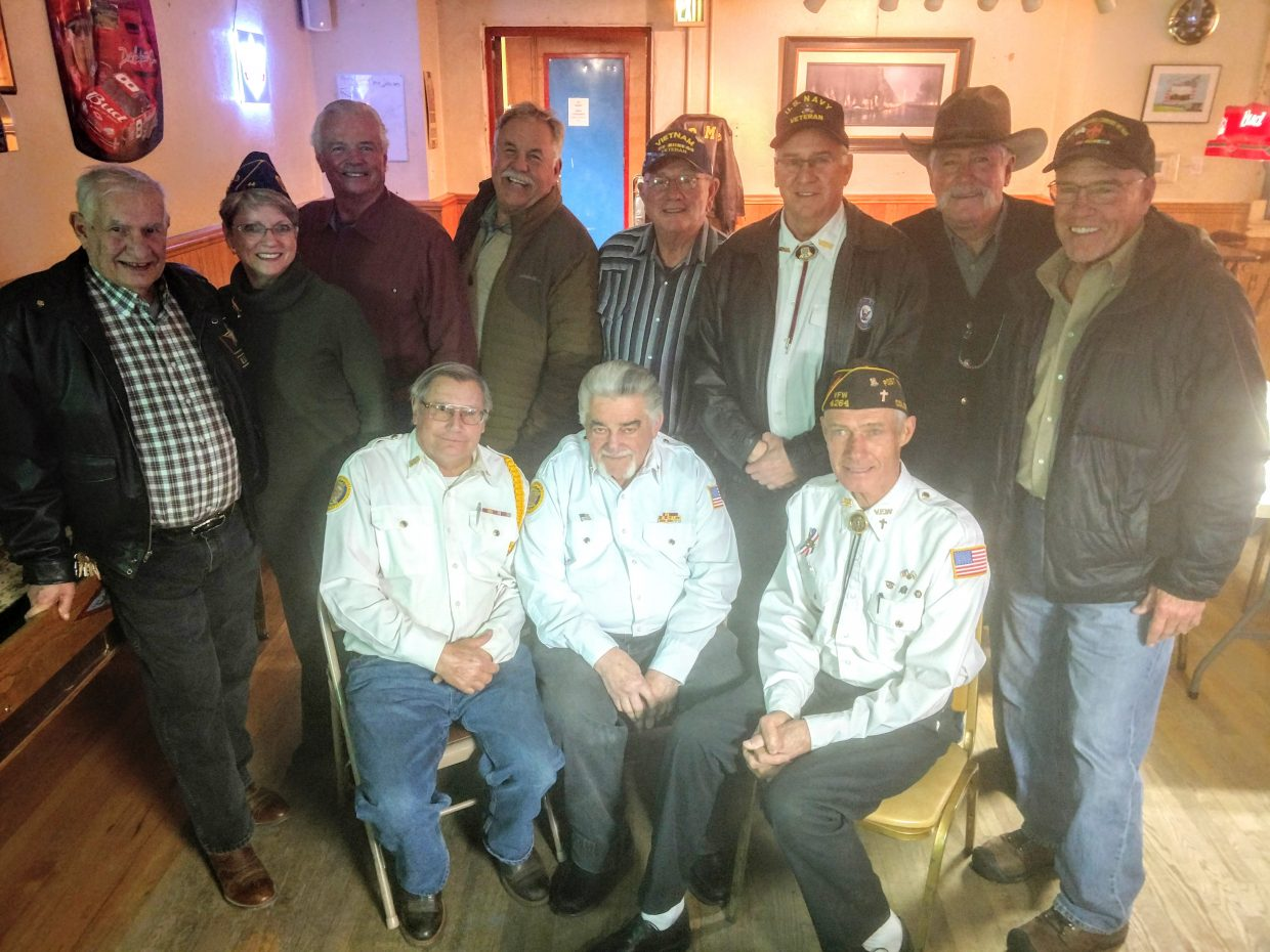 A dinner was held at the VFW Post for those veterans who served in Vietnam.