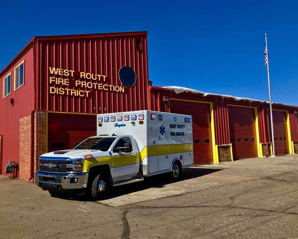 West Routt's newest ambulance comes equipped with night vision