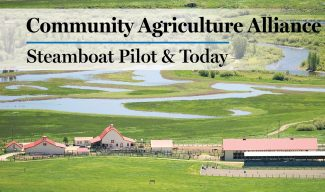 Community Agriculture Alliance: Upper Yampa River Habitat Partnership Program