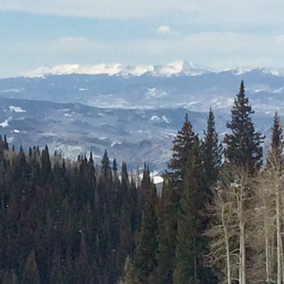 Winter appears to still be visiting the Flat Tops Wilderness Area.
