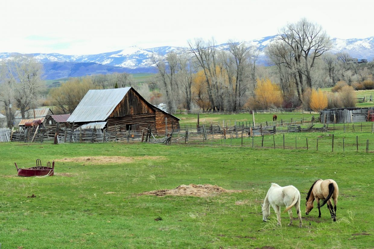 Ranch in Routt County.