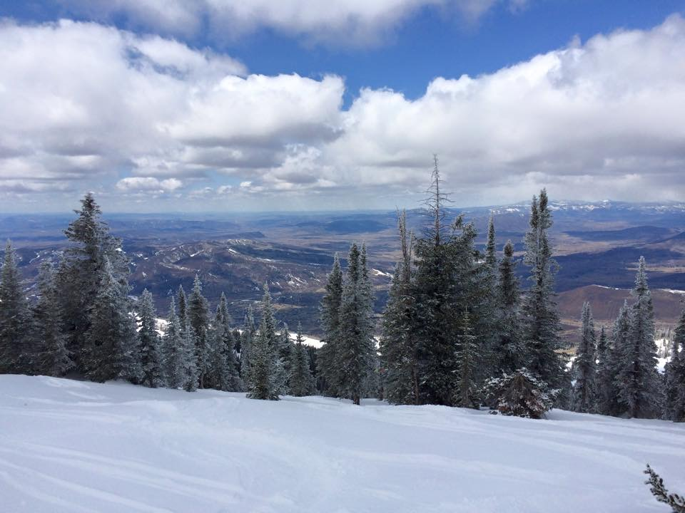 Winter is hanging on at Steamboat Ski Area.