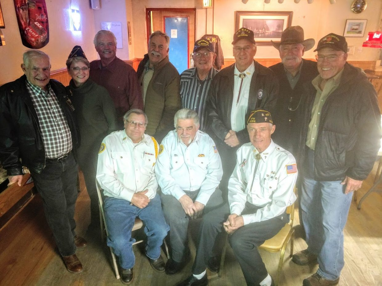 The VFW Post in Steamboat Springs held a Vietnam Veterans Day dinner on March 29 for those veterans who served in Vietnam.