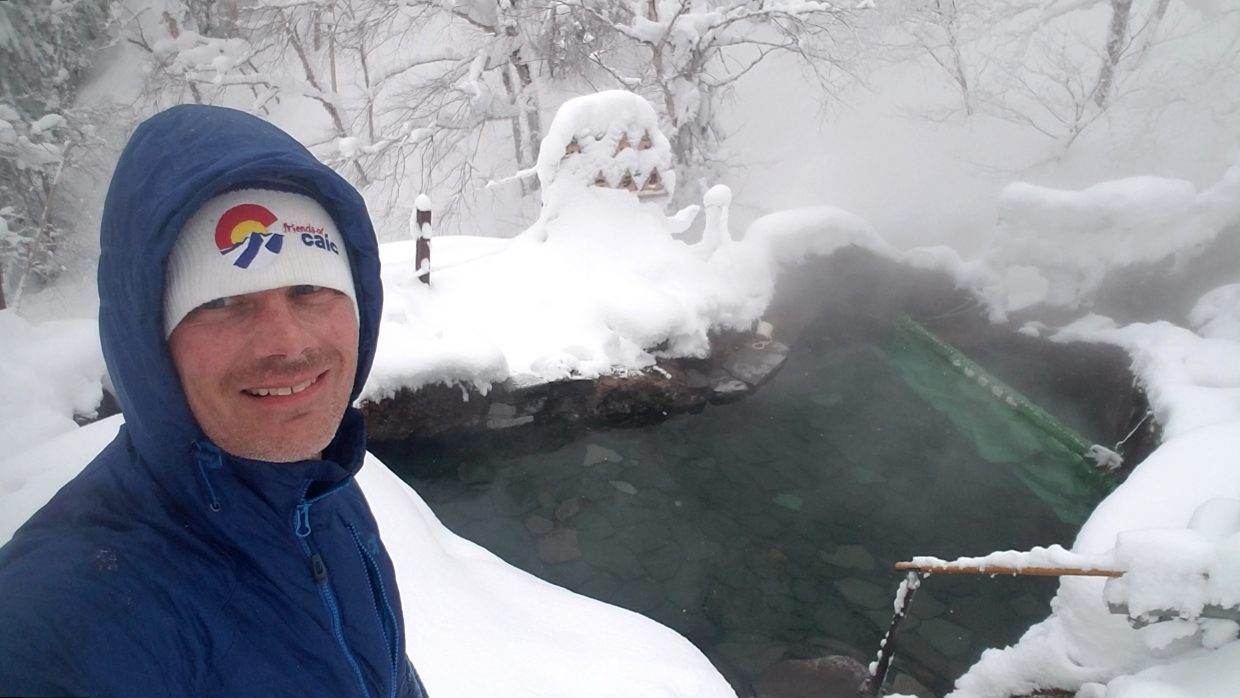 Steamboat's Will Carlton spent most of the winter guiding powder skiing tours in Japan.