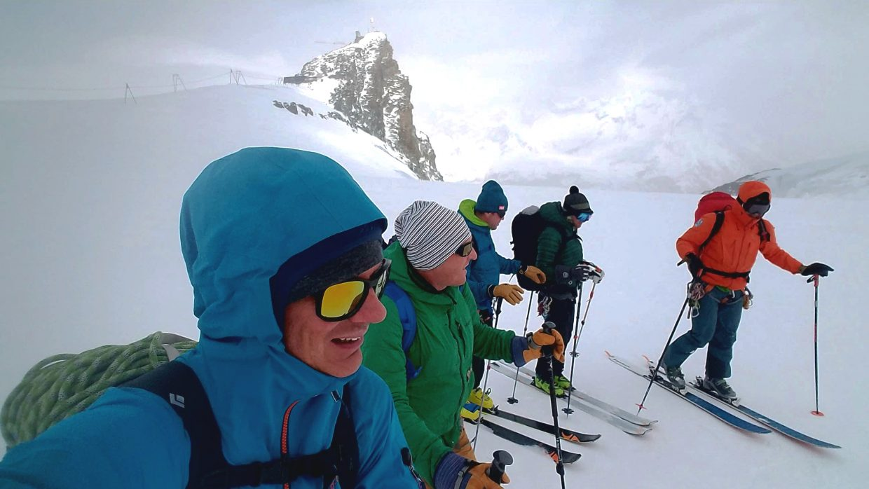 After a winter in Japan and Montana, Will Carlton traveled to Europe to continue guiding in the Alps.