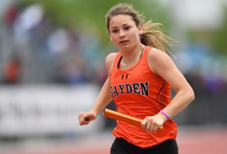 Hayden track team produces qualifying marks at final meet before state