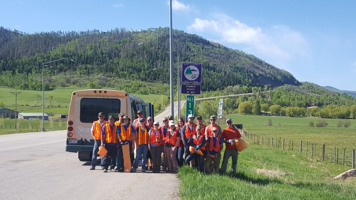 Steamboat Resorts Wyndham Vacation Rentals  staff was happy to participate in the 2018 Routt County Clean-Up Day.