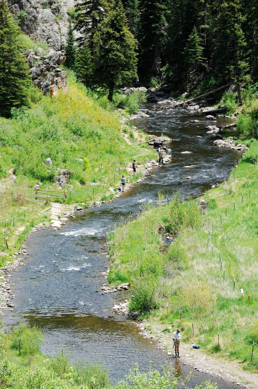 Stretch of yampa river below stagecoach dam closed to for Yampa river fishing report