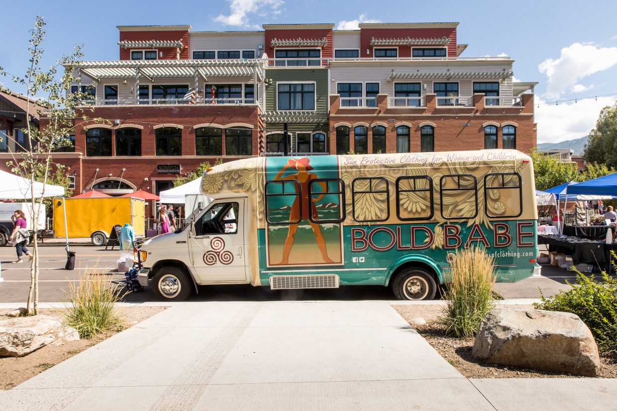 The Bold Babe Bus is a mobile boutique based out of Denver that sells all handmade items. It will be at the Main Street Steamboat Springs Farmers Market this summer.