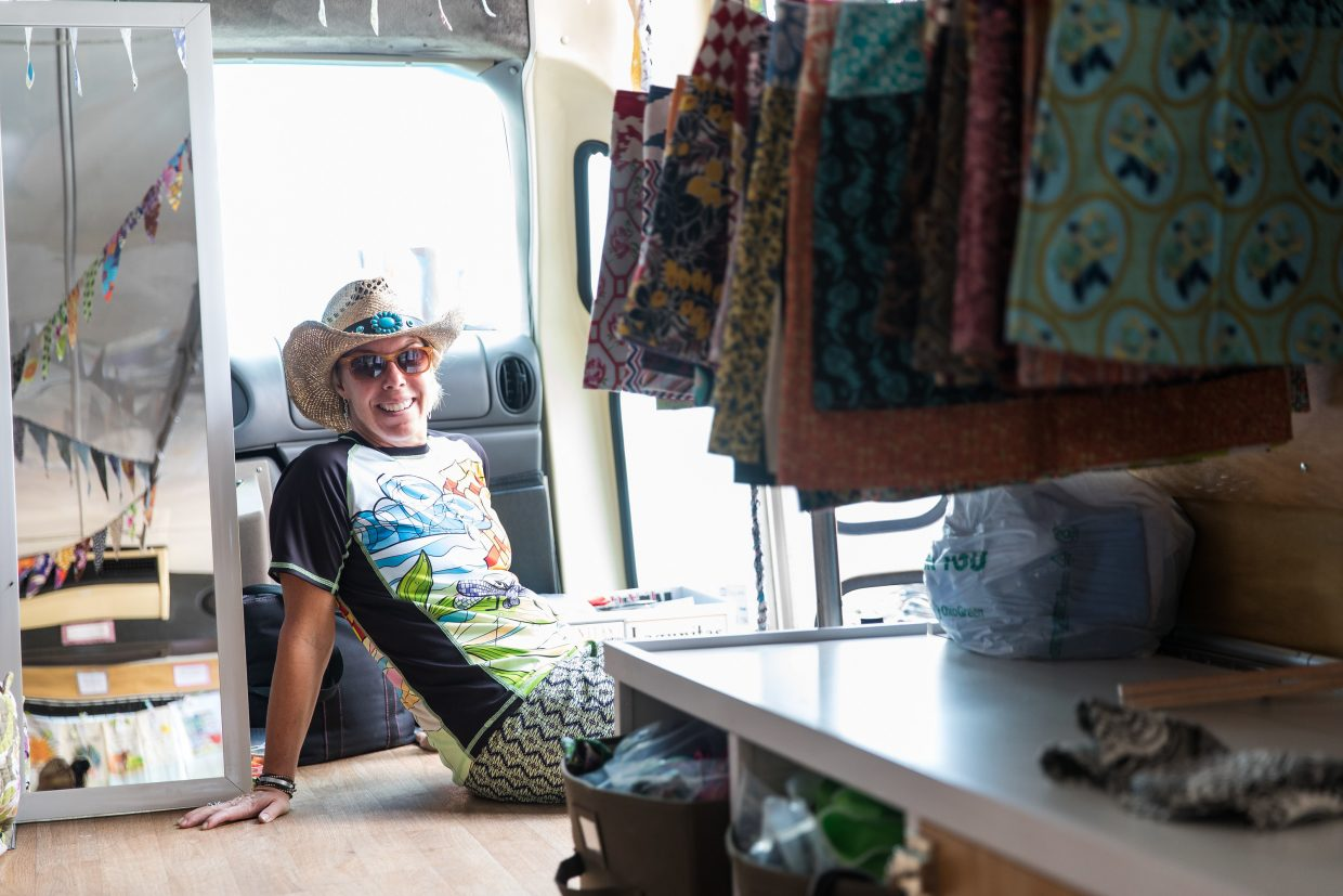 Kate Bangs created Bold Babe, a mobile boutique featuring sun-protective clothing for women. She will be at the Steamboat Springs Farmers Market for the first time this Saturday.