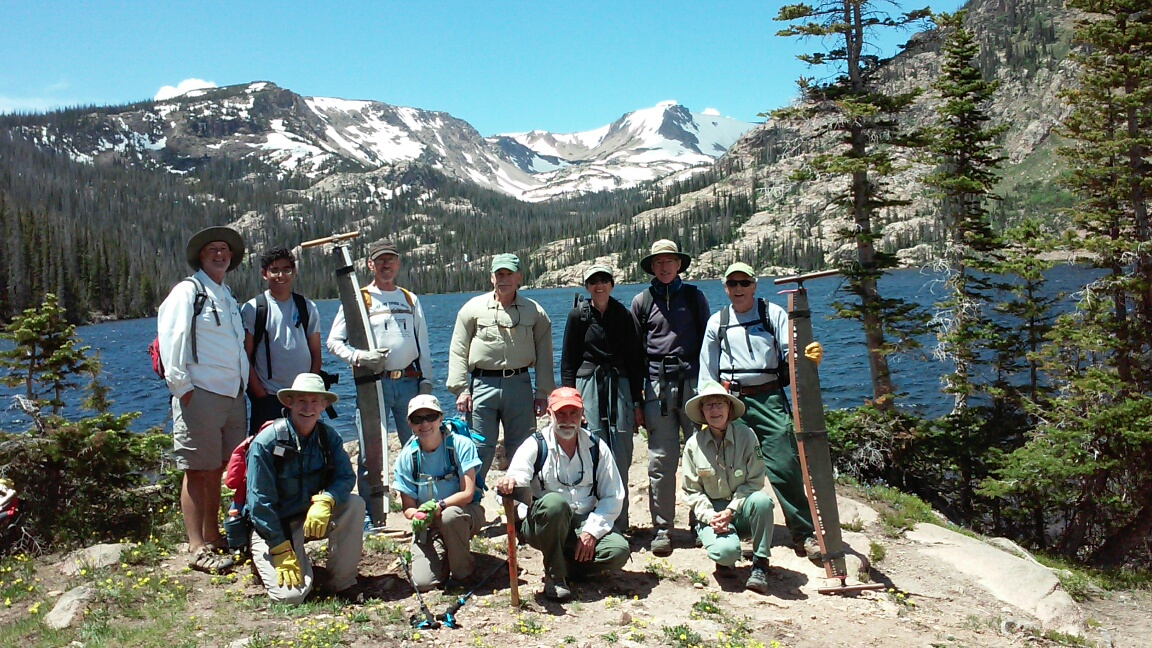Friends of the Wilderness clean up Rainbow Lake Trail.