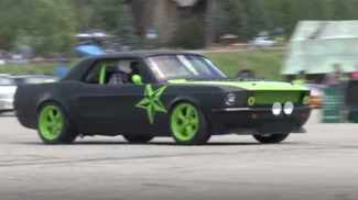 VIDEO: Tight corners and screeching tires at Mustang autocross
