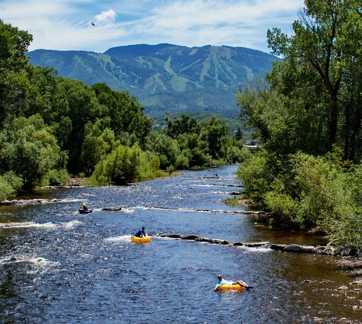 Summer Fun on the Yampa River in Steamboat Springs.