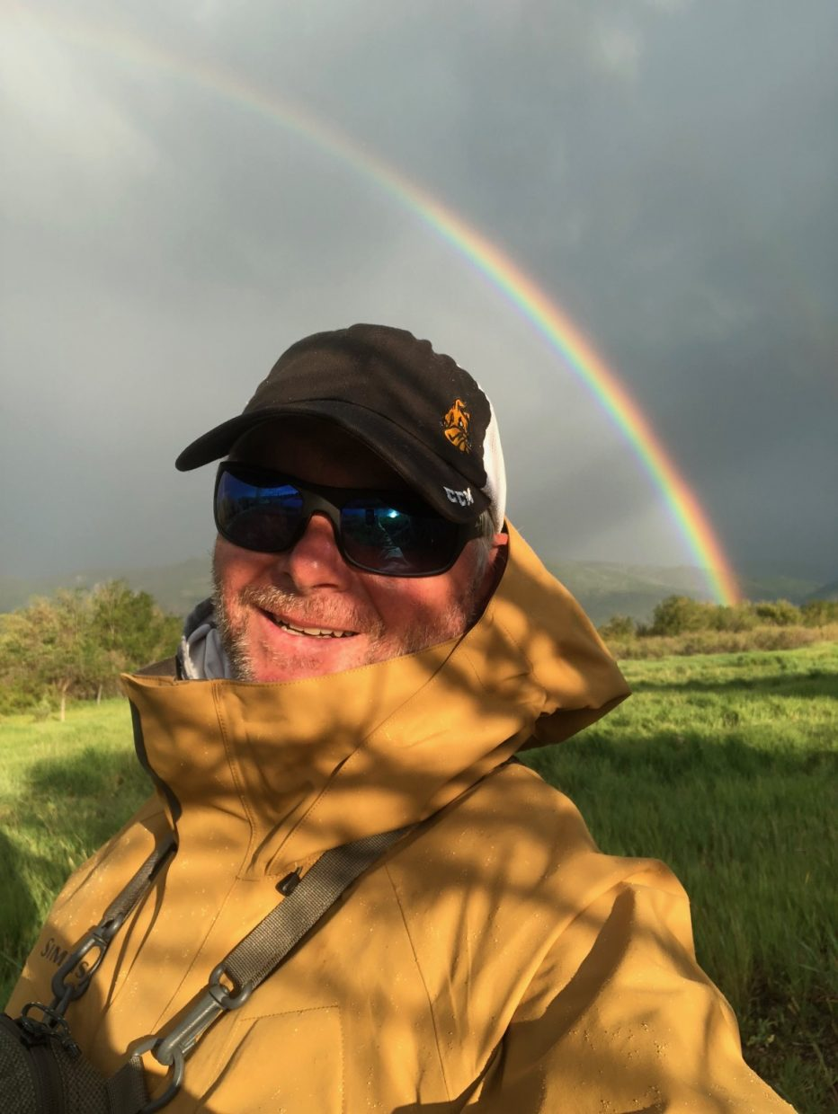 Not the rainbow I wanted to catch!