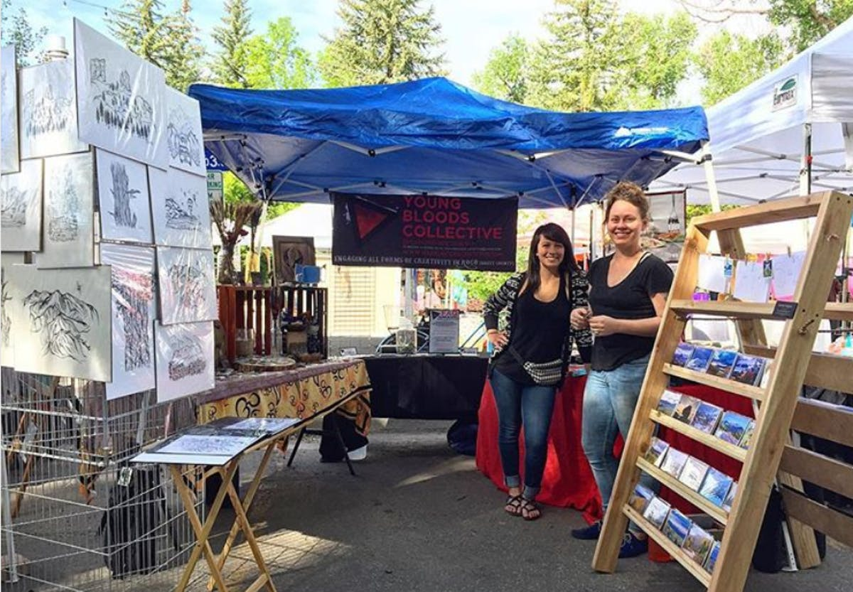 Be on the lookout this summer at the Farmers Market for nonprofit vendors like the Young Bloods Collective artists featuring quirky new items each Saturday.