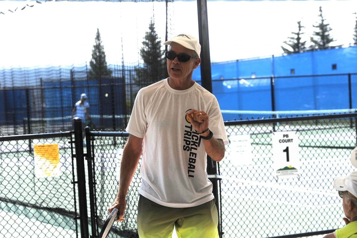 Scott Moore hosts pickleball clinics at Tennis Center at Steamboat Springs on June 29 and 30.
