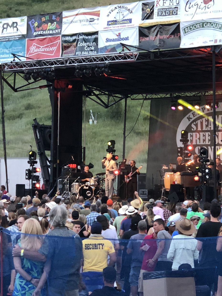 JJ Grey & Mofro at the Steamboat Free Summer Concert Series.