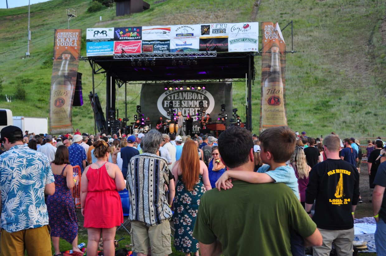 Steamboat Springs Free Summer Concerts join the growing list of summer events being canceled and postponed due to the COVID-19 pandemic in Routt County.