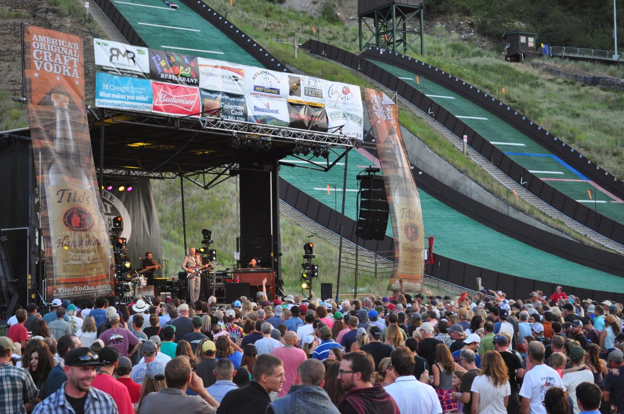 JJ Grey & Mofro rock Howelsen Hill Amphitheater on Saturday for Steamboat Springs Free Summer Concert Series.