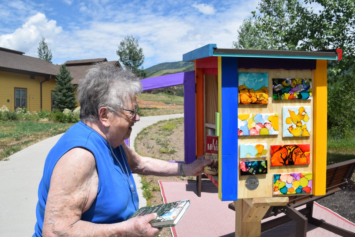 """A registered Free Little Library means it will operate on the honor system of """"take a book, return a book."""""""