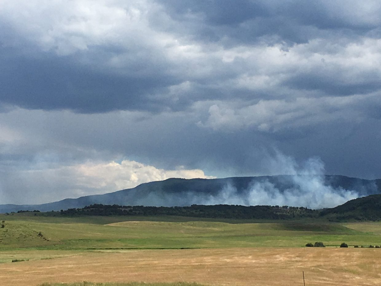 SW of Steamboat