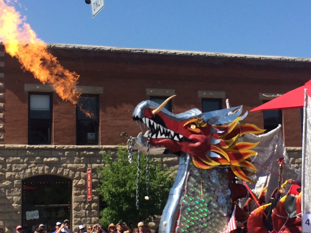 Steamboat Springs Fourth of July parade.