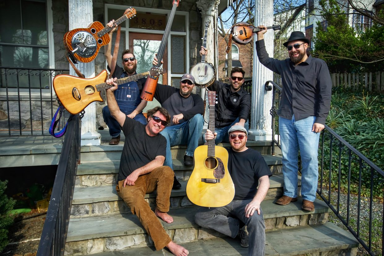 Free Summer Concert Series to feature Keller Williams' Petty Grass with the Hillbenders and openers Buffalo Commons to perform Saturday.