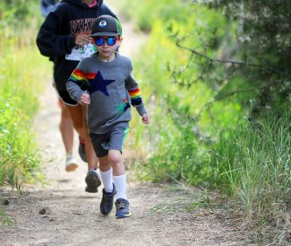 Study shows that hikers, mountain bikers use Steamboat trails in near equal numbers