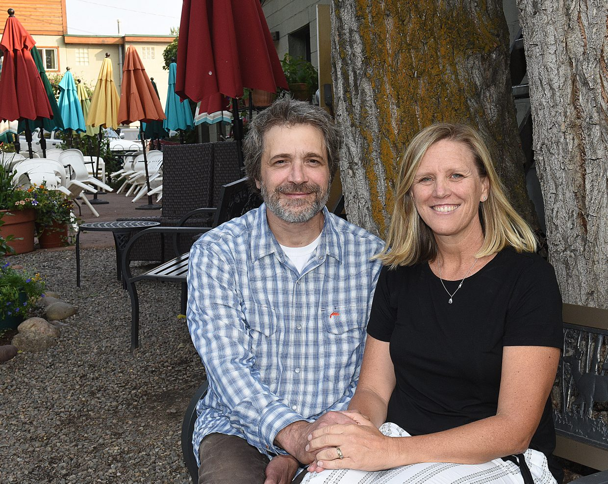 Jason and Kelly Landers, owners of Creekside Cafe & Grill, are being recognized as 2018 Navigator Award Service Excellence Persons of the Year.