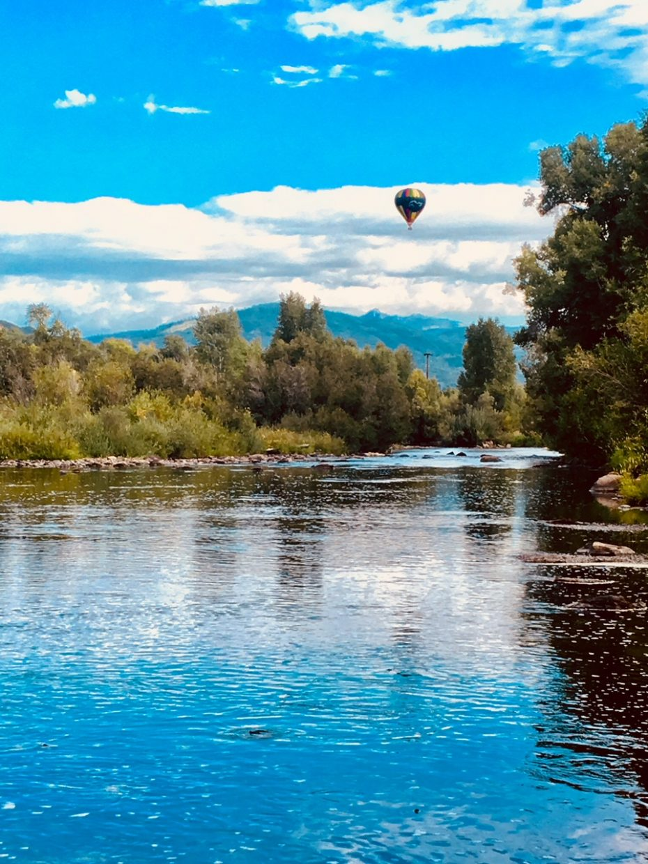 Sunday morning on the Yampa River.