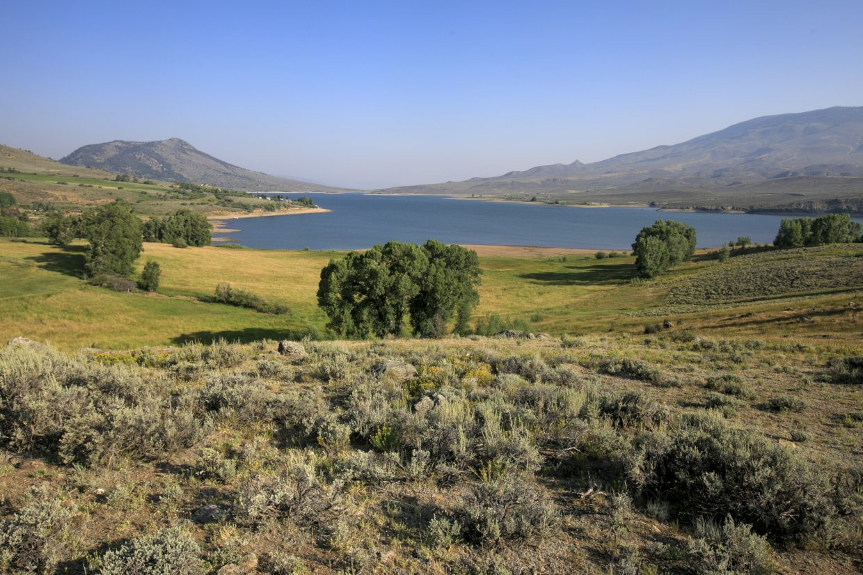 The view of Green Mountain Reservoir on the Knorr Lakeside Ranch near Heeney. Summit County worked to conserve 1,125 acres of the ranch bordering national forest land.