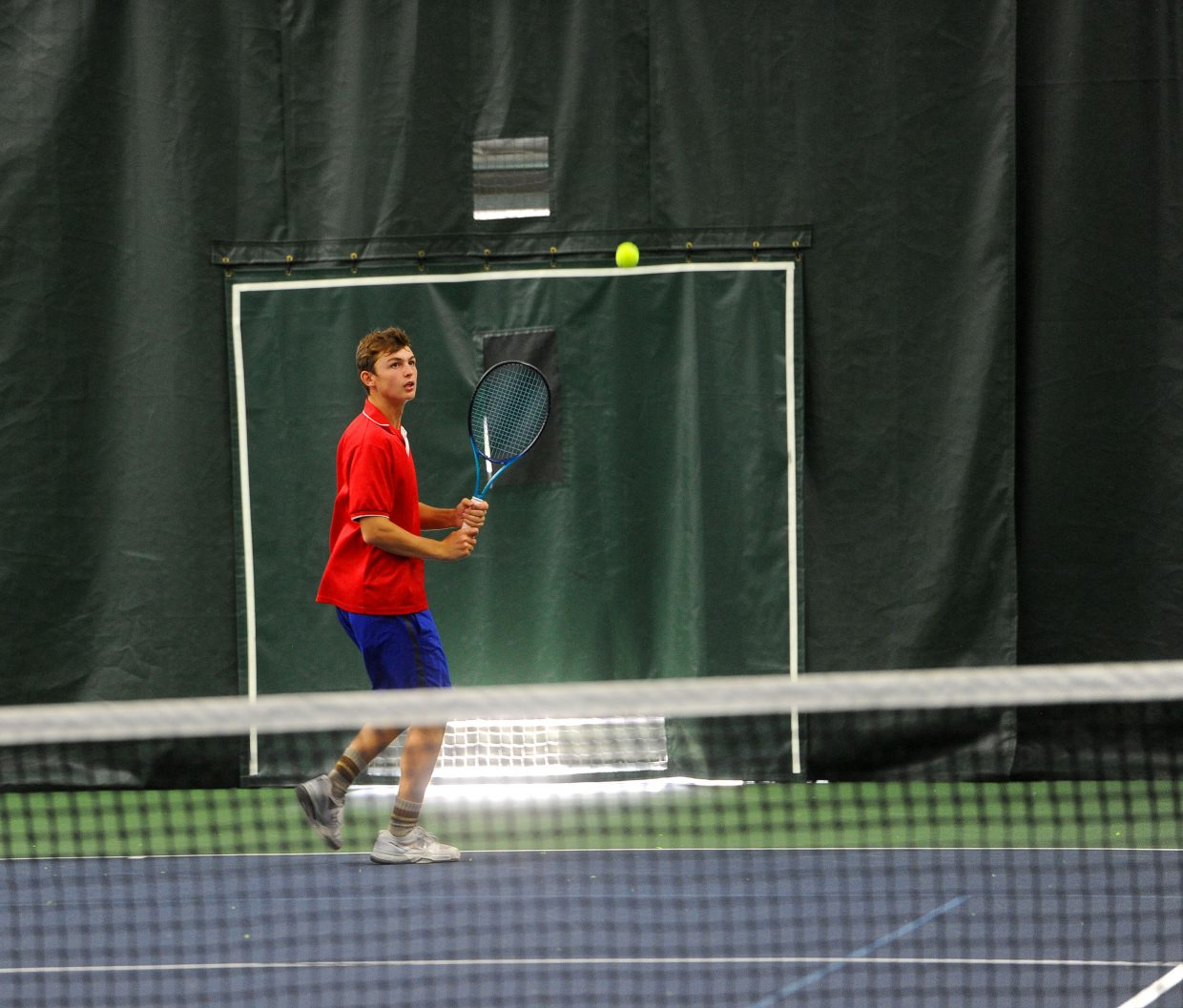 Freshman Andy Schuiling is the No. 1 14-year-old tennis player in Colorado. He'll be starting as the top singles player for the Steamboat Springs High School varsity team.