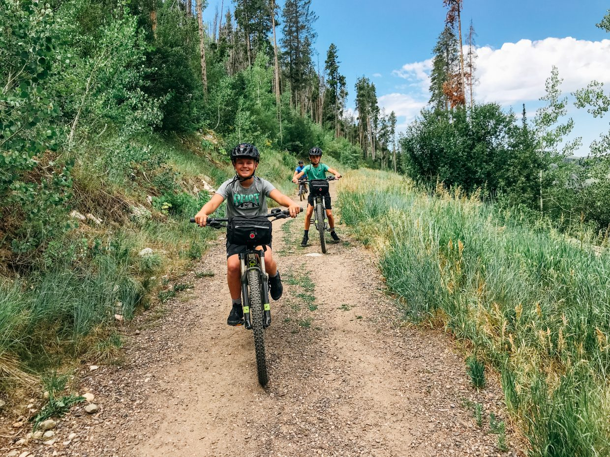Journey Rides started renting, selling and providing electric bike tours in the Steamboat Springs area this summer.