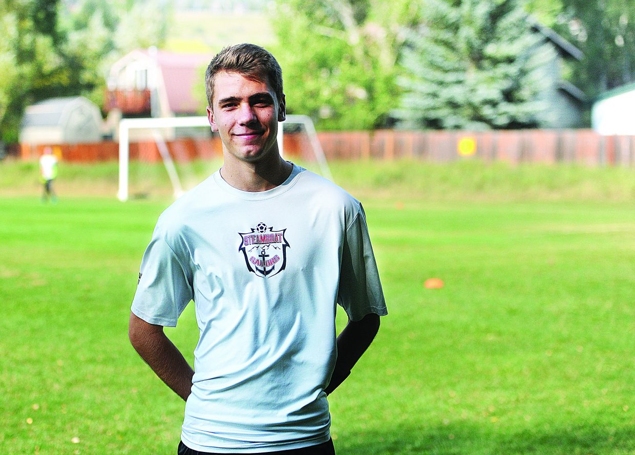 Senior Murphy Bohlmann led the Steamboat High School soccer team in scoring last season.