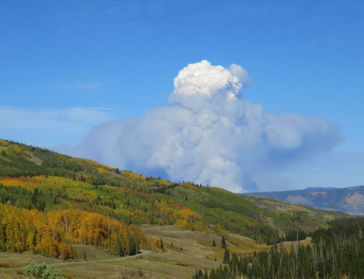 On Sept. 12, the Silver Creek fire roared back to life.
