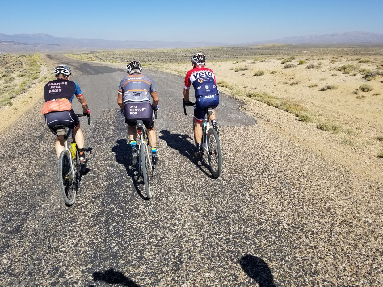Barkley Robinson, PJ Wharton and Scott Tanner succeed in a 150-mile, 1-day circumnavigation of the Mount Zirkel Wilderness Area on gravel bikes.