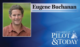Eugene Buchanan: A pole, pedal, paddle commute to work on the Yampa River