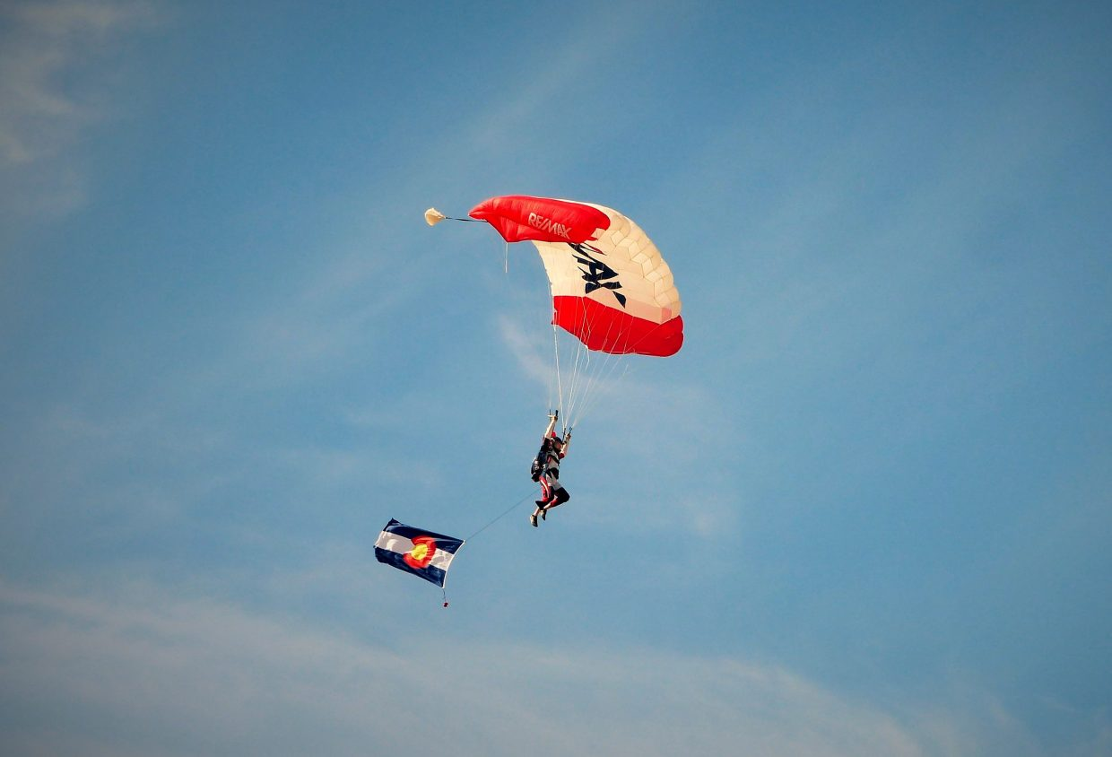Some really fun pictures from the Wild West Air Fest in Steamboat Springs today