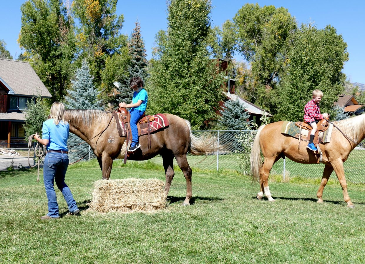 Soda Creek Elementary School in Steamboat Springs has 1st Grade Round-up Days each year. Niki Struble is with the 1st grade team. She says it is important for the students to learn about the ranching community in Routt County.