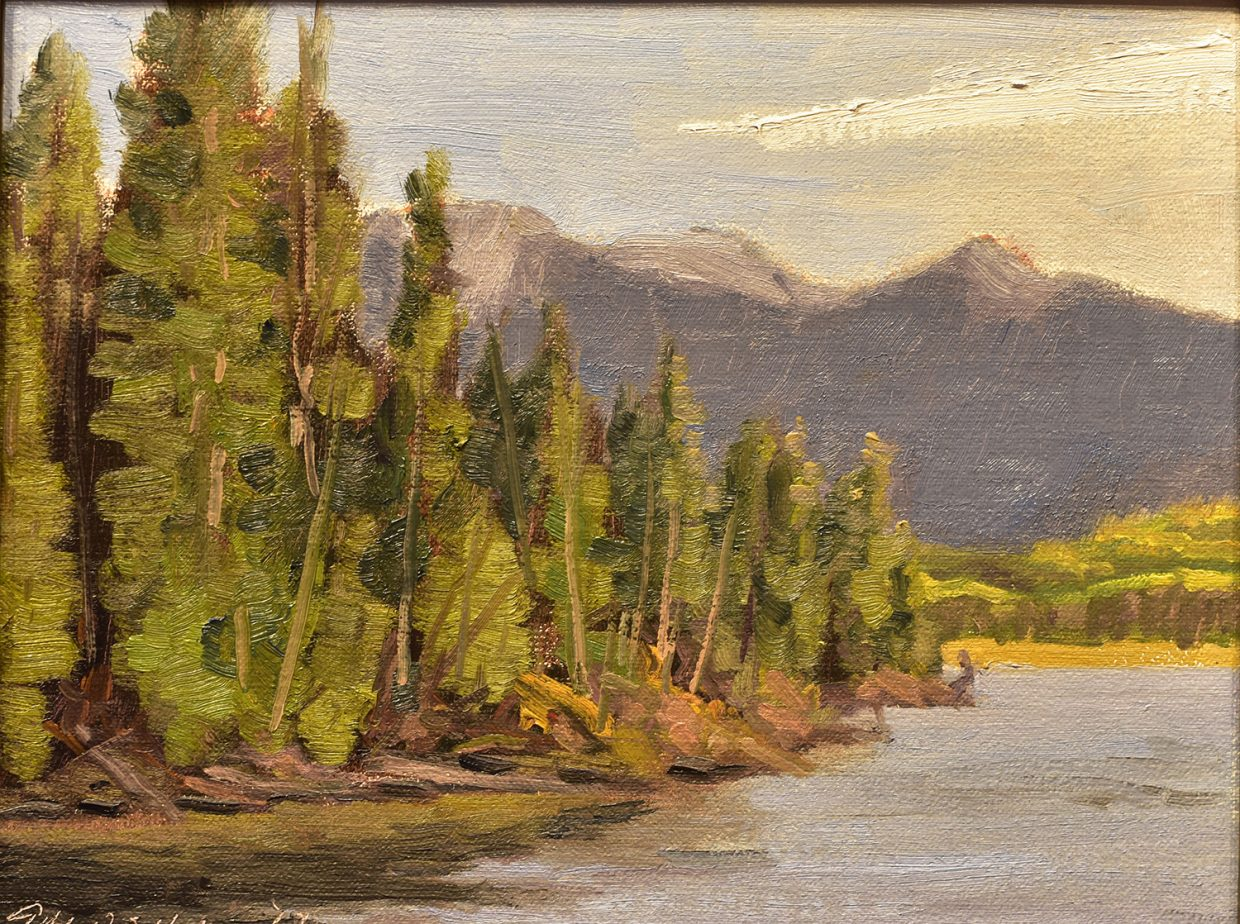 Scenes of the golden Yampa Valley attract over 60 Plein Air artists ...